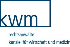KWM – Rechtsanwälte Kanzlei für Wirtschaft und Medizin.